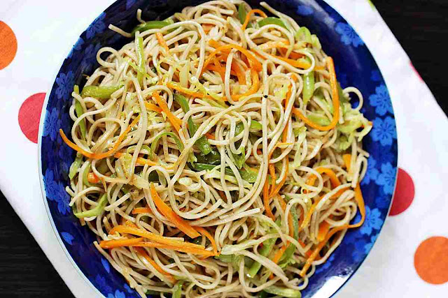 Veg Noodles Recipe at Home Restaurant Style