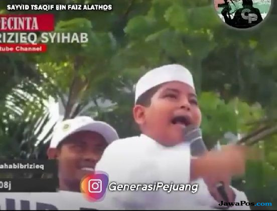 Soal Video Anak Orasi 'Pilih Nomor 2', Begini Penjelasa FPI