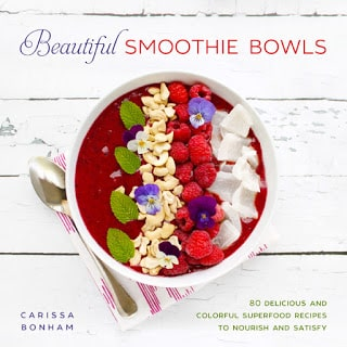 80 Recipes for the best smoothie bowl and nice cream recipes made from whole, healthy foods.