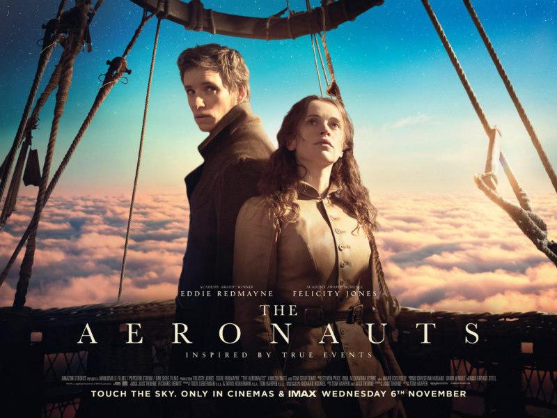the aeronauts poster