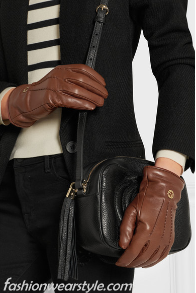 Butter Soft Leather Gucci Gloves For Women/Men 2016-17www.fashionwearstyle.com