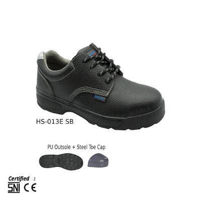 Sepatu Safety Pendek Tali Eurostat Ruppel Fox Basic