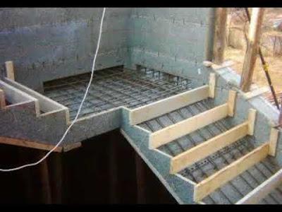 Cara Mudah Membuat Tangga Rumah Dari Beton Bertulang 3