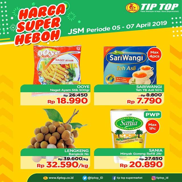 #TipTop - #Promo #Katalog JSM Periode 05 - 07 April 2019