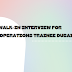 Walk-in interview for Operations Trainee Dubai