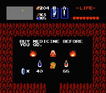 Zelda 1 Potion