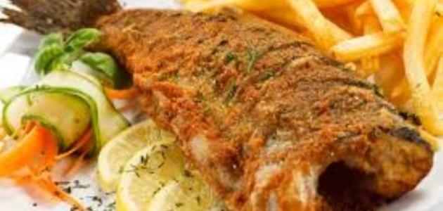 طريقة عمل السمك المقلى,السمك المقلى بالثوم والليمون,سمك فيلية بالبهارات,سمك فيلية,وصفات,وصفات الطبخ,وصفات تحظير الطعام,وصفات طبخ
