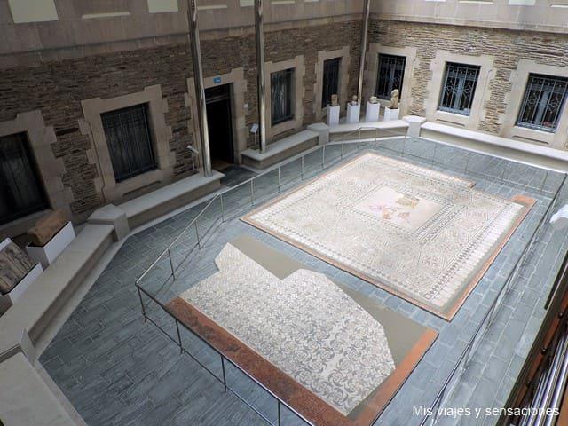 sala de los mosaicos, museo provincial de Lugo
