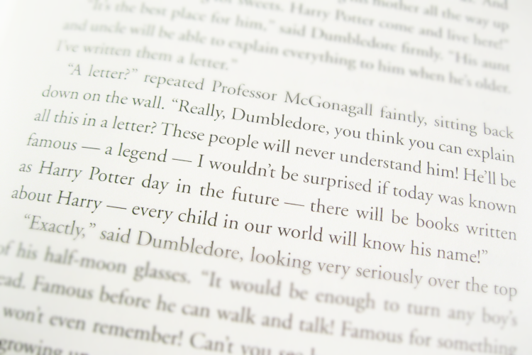 Harry Potter Book Excerpt ~ Potter talk