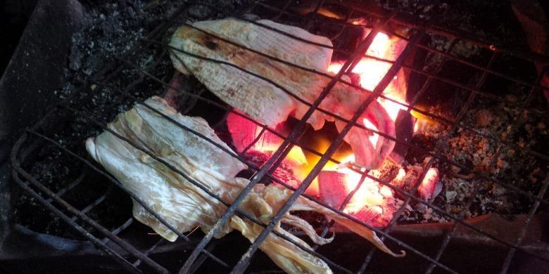 Sotong pangkong, seafood khas Pontianak