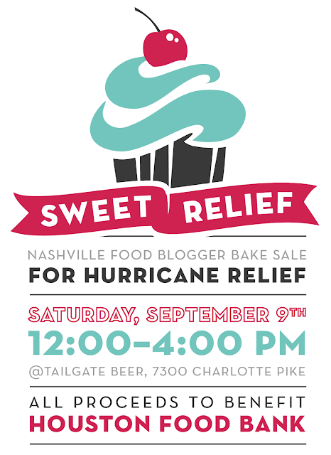 Sweet Relief Nashville Food Blogger Bake Sale for Houston Food Bank