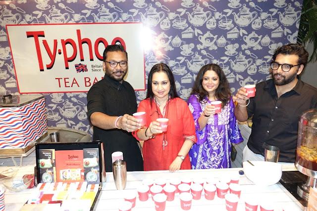 Nil, Mrs. Madhu Neotia, Abhilasha Sethia and Rohan Arora at Typhoo Lemon and Honey launch-2