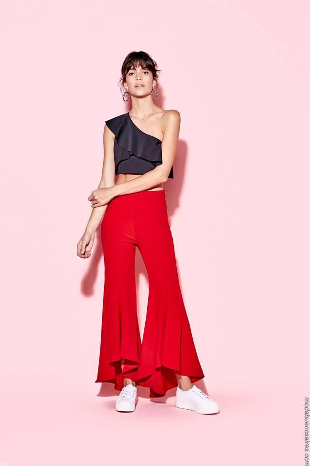 Ropa de mujer primavera verano 2018. Moda primavera verano 2018.