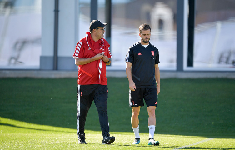 Sarri posjetio Juventus trening centar u Continassi