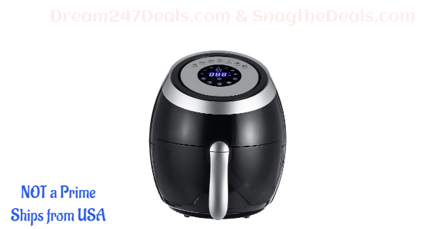 Air Fryer,TAPCET 5.5-Quart Digital Hot Air Fryer 30% OFF
