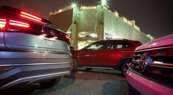 Volkswagen Nivus começa a ser exportado para Argentina