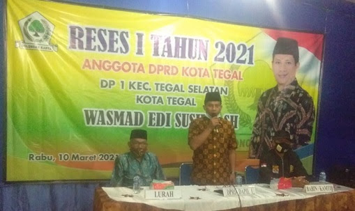 Wasmad Resap Aspirasi Masyarakat Dalam Reses Persidangan I