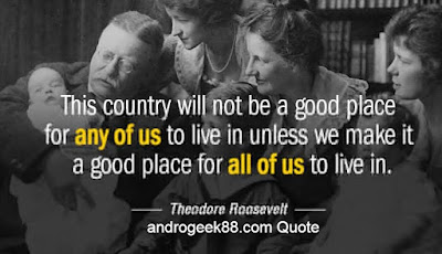 This country will not be a good place for any of us to live in unless we make it a good place for all of us to live in.