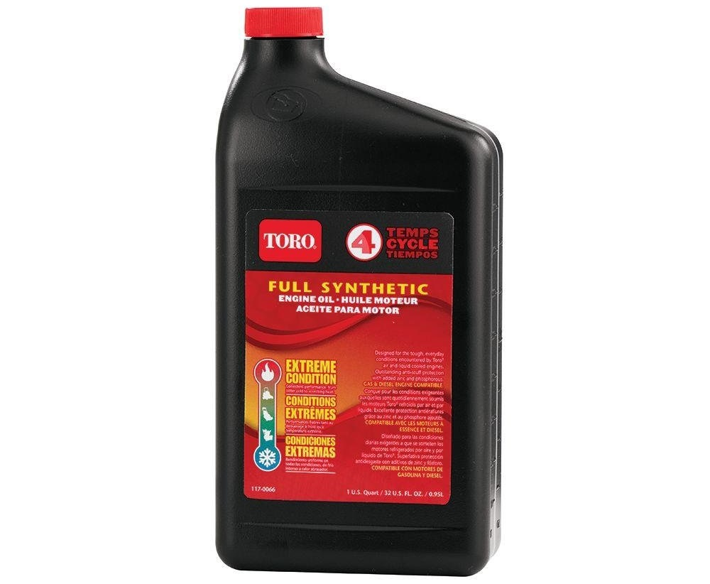 what kind of oil for my toro lawn mower