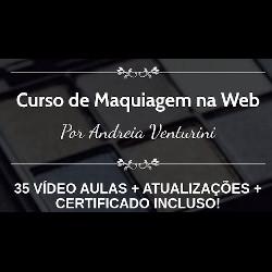 Curso Maquiagem na Web - Andréia Venturini