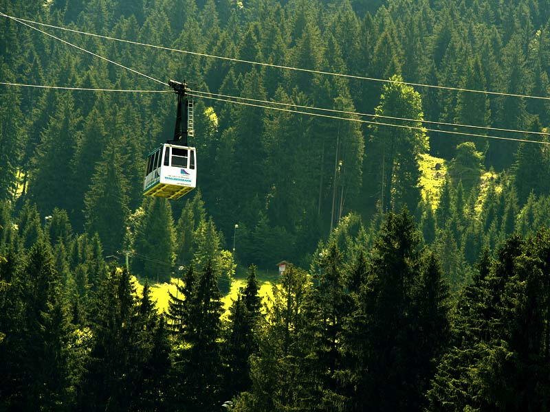 Tegelbergbahn Cable Car in Germany