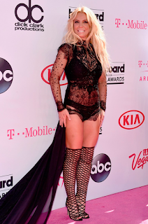Britney Spears wears a bathing suit to  the 2016 Billboard Music Awards. See pics at JasonSantoro.com