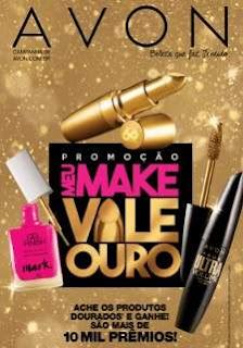 Cadastrar Promoção Avon Meu Make Vale Ouro Maletas Maquiagem IPhone 7 Gold Cem Mil Reais
