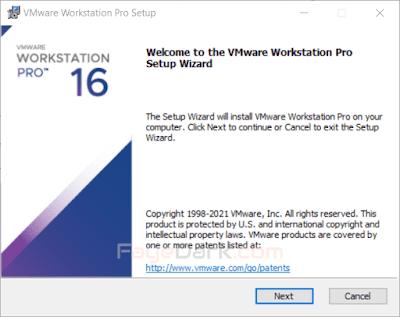 Cài đặt VMware trên máy tính