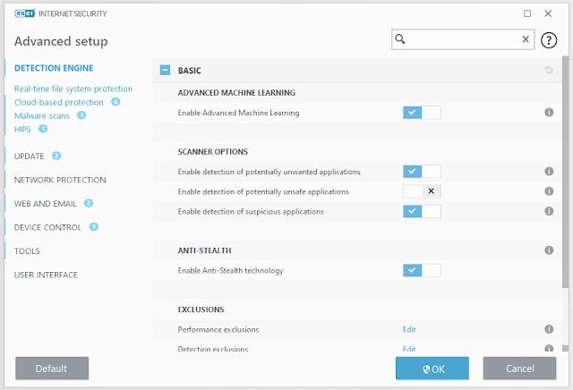 المميزات والخصائص الجديدة في نسخة إسيت What's new in ESET version 13