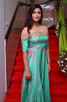 Anisha Ambrose sizzles in cute Green Anarkali Dress at Fashion TV F Club Saloon Launch ~  Exclusive 023.JPG
