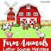 Farm Animals Letter Sounds Matching