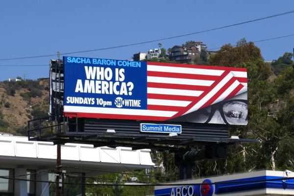 Who is America series premiere billboard