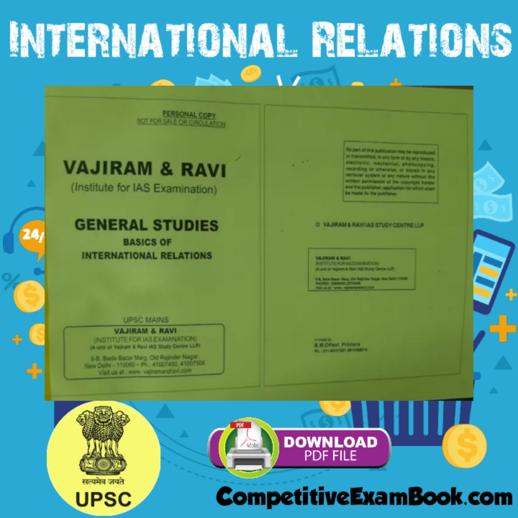 Vajiram and Ravi International Relations Yellow Book PDF