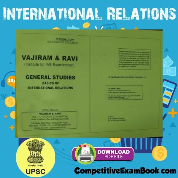 International Relations By Vajiram Ravi 2021 Pdf Notes