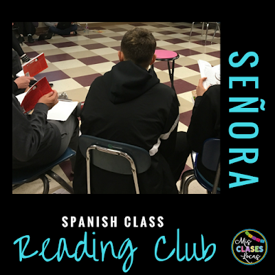 Reading Club - 1 Novel, 3 Groups - Mis Clases Locas