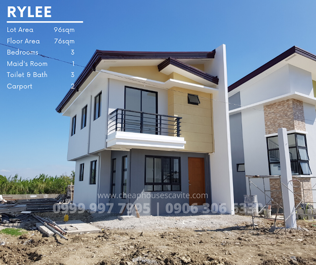 Rylee at Riverlane Trail Single Attached - Pag-ibig Cheap Houses for sale in Cavite