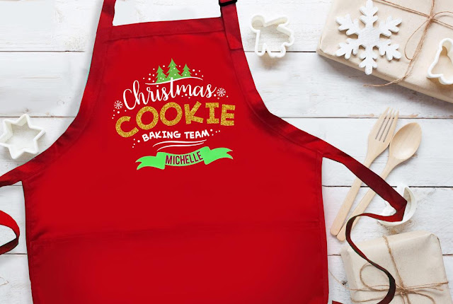 Christmas Cookie Baking Team apron