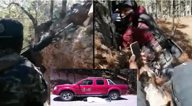 Video: Así fue el enfrentamiento entre Cártel de Sinaloa vs El CJNG donde 12 Sicarios fueron acribillados y ejecutaron por error a misionero