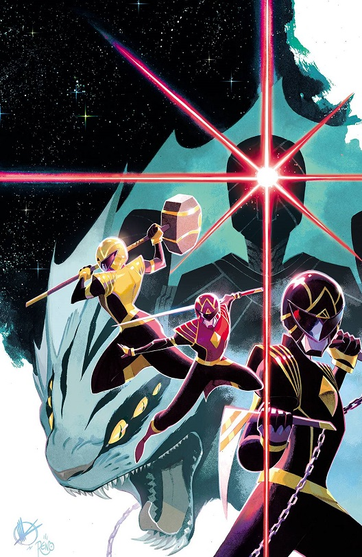 Cover of Power Rangers #1