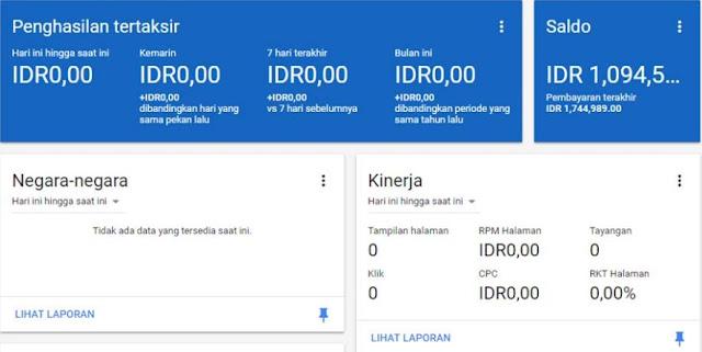 Dapat uang dari google