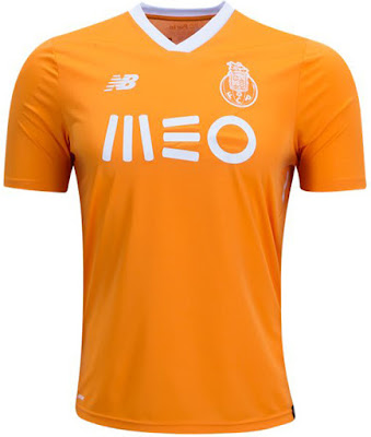 FC Porto 2017 2018 New Balance Away Football Kit, Soccer Jersey, Shirt, Camisa