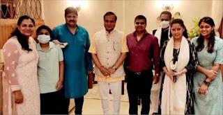 शपथ लेने के बाद चन्द्रकान्त जायसवाल के आवास पर मुख्यमंत्री का पहुंचाना गौरव की बातः अटल गुप्ता | #NayaSaberaNetwork