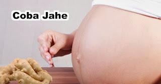 Coba Jahe untuk membantu mengurangi morning sickness