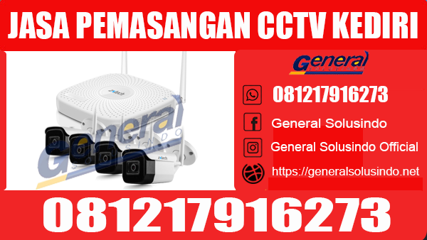 Jasa Pemasangan CCTV Kediri Kota