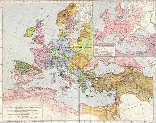 Recorrido de la Cruzada de los Pobres hasta Constantinopla