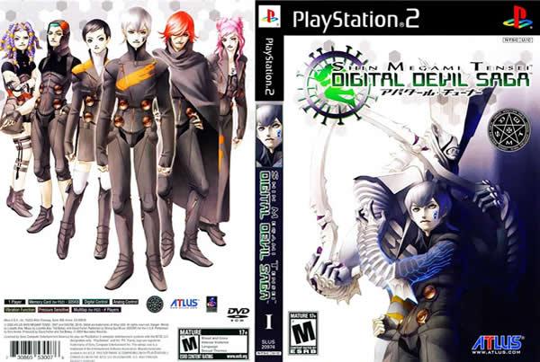 Descargar Shin Megami Tensei - Digital Devil Saga para PlayStation 2 en formato ISO región NTSC y PAL en Español multilenguaje Enlace directo sin torrent.