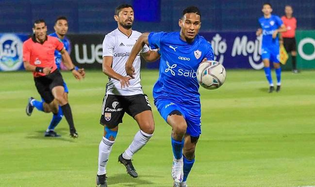 نتيجة مباراة الزمالك اليوم ضد الجونة في الجولة 25 من الدوري المصري
