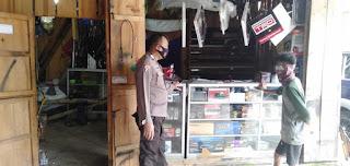 Minimalisir Adanya Tindak Kriminalitas Bhabinkamtibmas Bripka Putu Budiarsa Sambang Desa Binaan