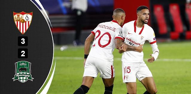 Sevilla vs Krasnodar – Highlights