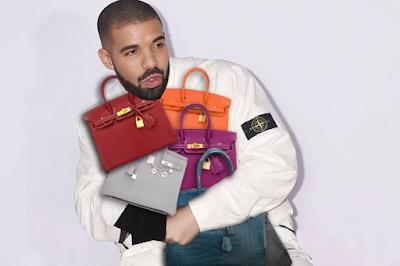 Drake Launches Birkin Bag Collection